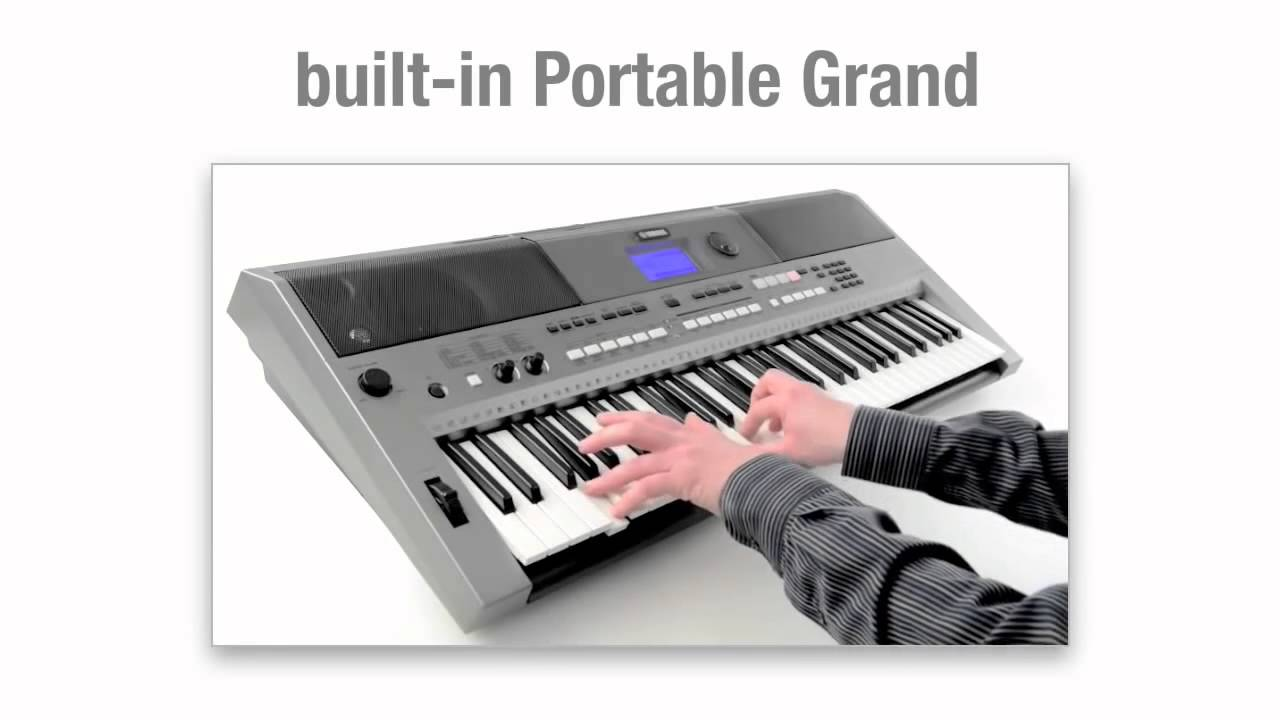 yamaha psr e443 home keyboard introduction youtube. Black Bedroom Furniture Sets. Home Design Ideas