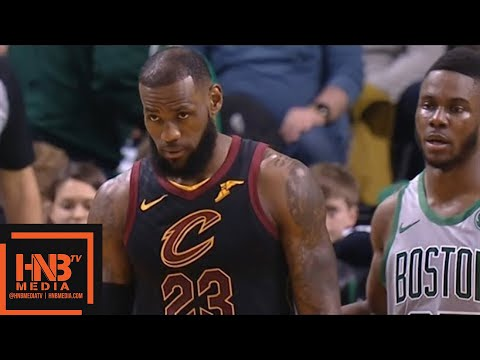 Cleveland Cavaliers vs Boston Celtics 1st Half Highlights / Feb 11 / 2017-18 NBA Season