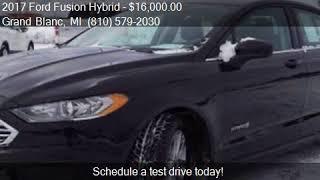 2017 Ford Fusion Hybrid SE 4dr Sedan for sale in Grand Blanc