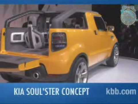 Kia Soulster Concept Video Review Kelley Blue Book