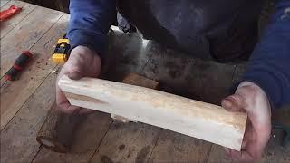 видео Заготовка и сушка древесины
