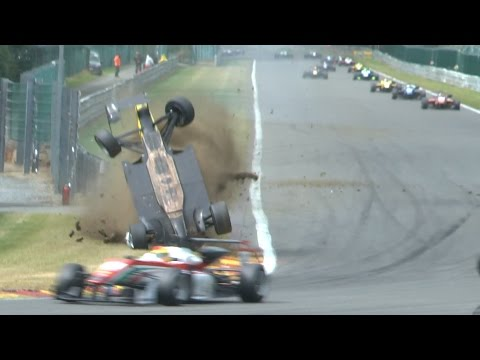 Crash & Action ADAC GT Masters Spa Francorchamps 2015