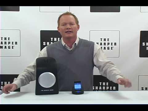 Sharper Image Indooroutdoor Wireless Speaker Dock For Iphoneipod