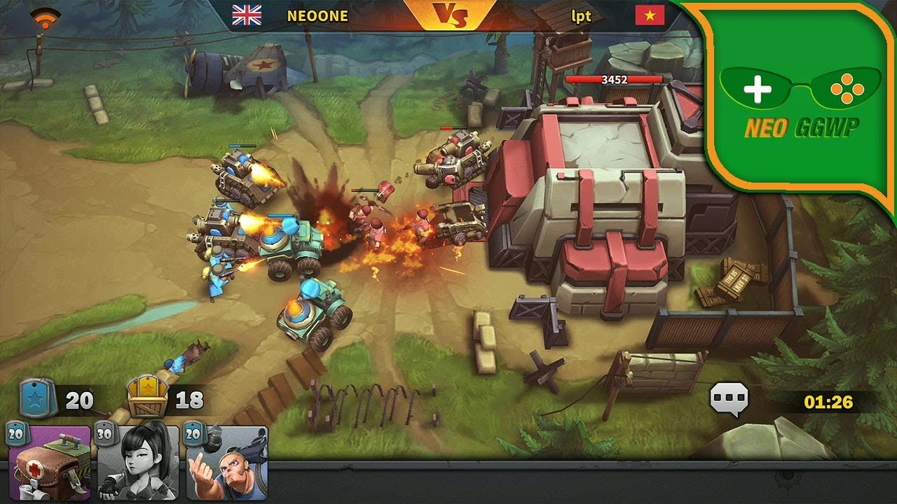 Battle Boom Android Ios Apk Xapk Real Time Strategy