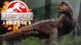 PRIMEROS DINOSAURIOS CARNÍVOROS DEL PARQUE JURASSIC WORLD EVOLUTION JURASICA!