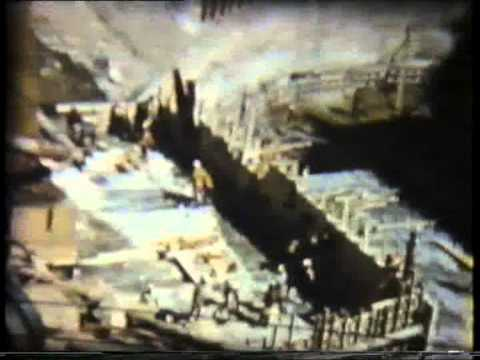 The Construction of Kariba Dam 1957