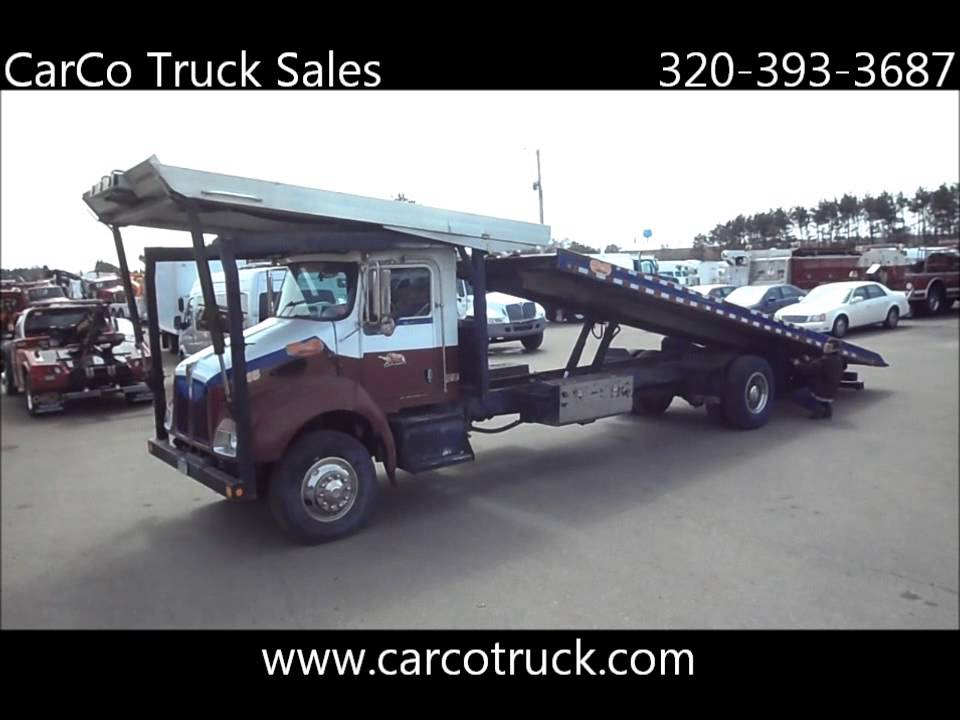 Rice Auto Sales >> Kenworth Four Car Carrier Tow Truck For Sale By CarCo Truck Sales - YouTube