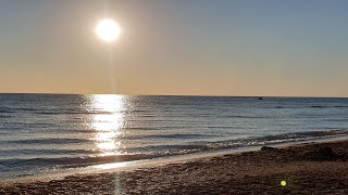 Закат На Море 18.09.2018 #АНАПА #ВИТЯЗЕВО #ДЖЕМЕТЕ