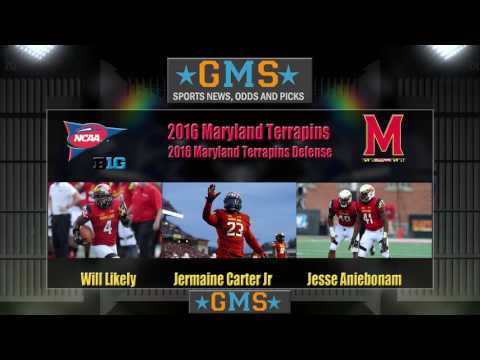 GMS 2016 Maryland Terrapins Football Team Preview