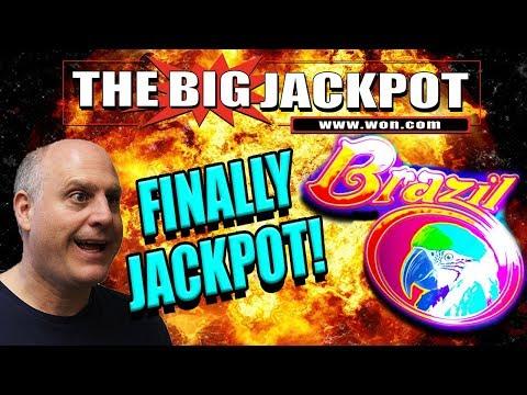 FINALLY! $45 / SPIN JACKPOT ON BRAZIL - The Big Jackpot - 동영상