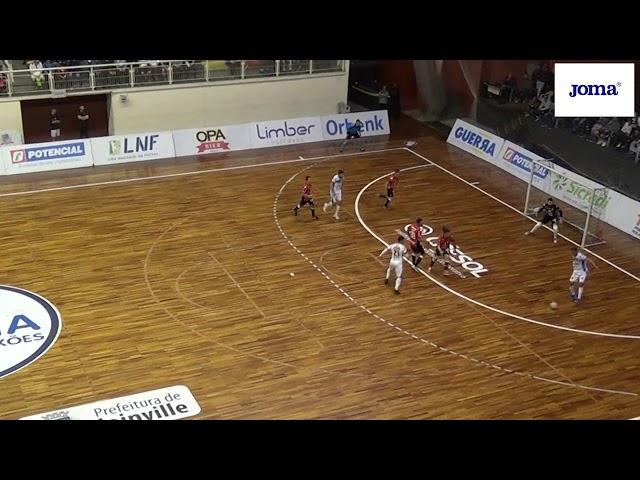 LNF 2019 - JEC/Krona 3x3 Pato Futsal - 17ª rodada