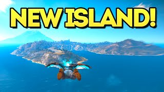 EXPLORING THE NEW ISLAND!! (Just Cause 3 Mech DLC)