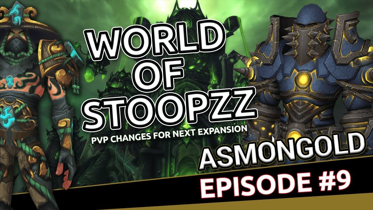 Stoopzz & Asmongold Talk PvP Changes   World of Warcraft Podcast #9