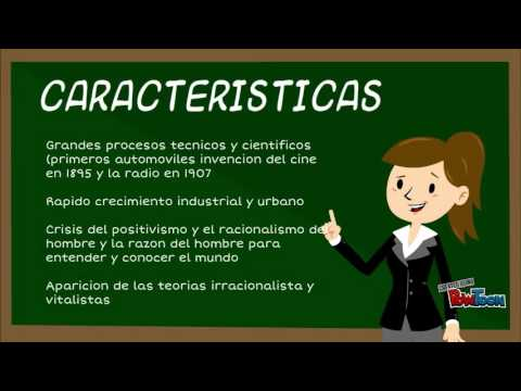 Novela contemporanea youtube for Caracteristicas de la contemporanea