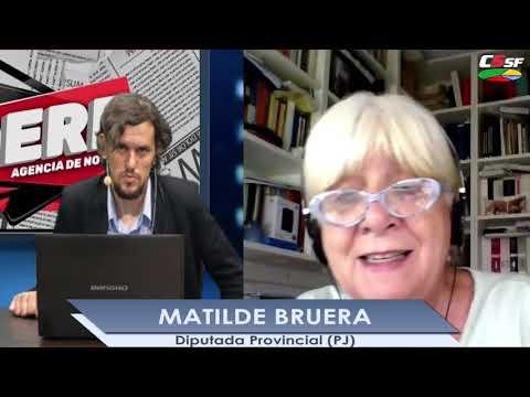 Matilde Bruera: El Frente Progresista no quiere recibir a Saín