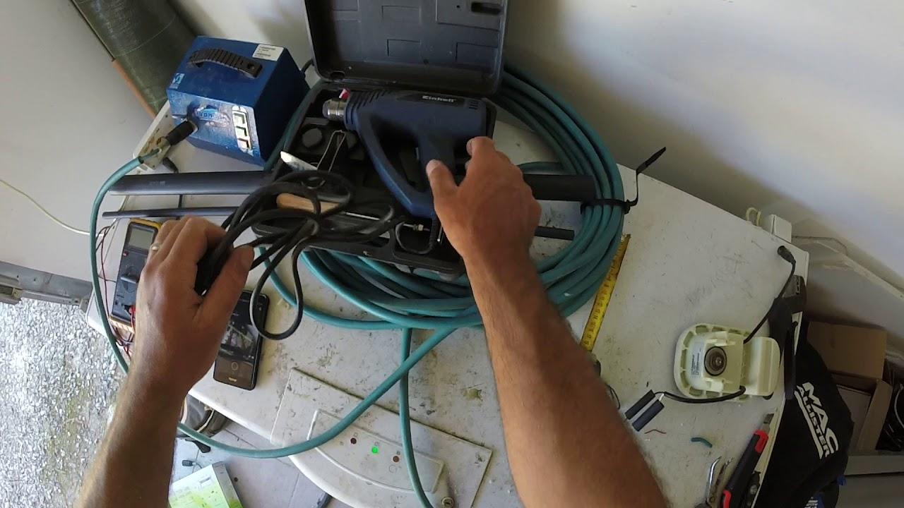 tuto comment reparer un robot piscine electrique connexion elec 2eme partie
