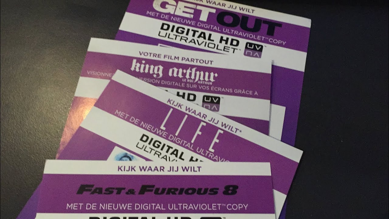 NEW DIGITAL COPY CODES FOR FREE