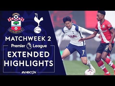 Southampton v. Tottenham   PREMIER LEAGUE HIGHLIGHTS   9/20/2020   NBC Sports