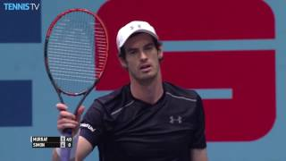 Andy Murray Hits Fan With Ace In Vienna, Walks Up To Say Sorry
