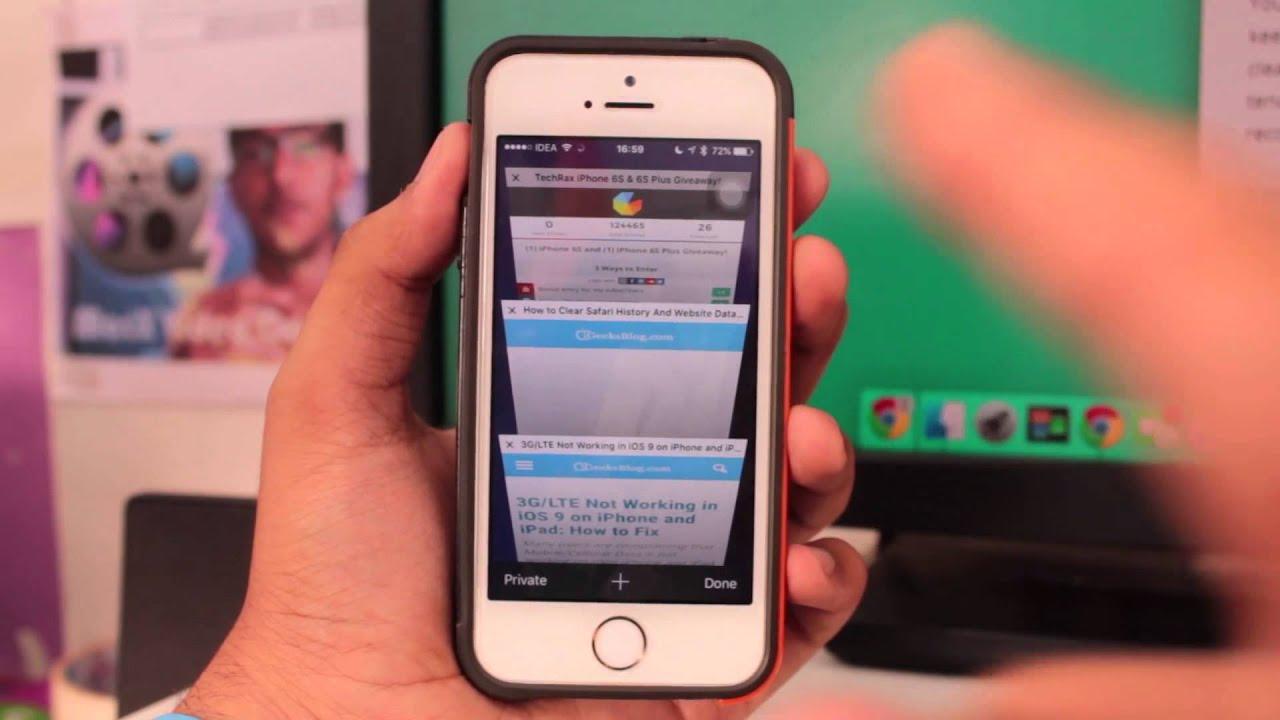 Как смотреть порносайты на айфоне