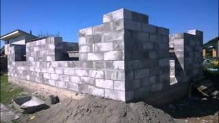 Дом из пеноблока 90 м 2 за 15 дней(Как построить дом из пеноблока 90 м 2 за 15 дней., 2014-10-24T10:11:37.000Z)