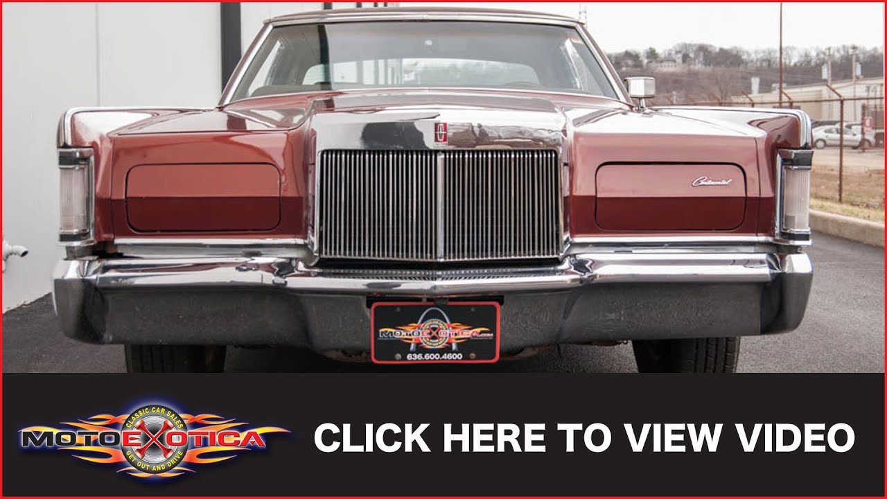1970 lincoln continental mark iii sold youtube. Black Bedroom Furniture Sets. Home Design Ideas