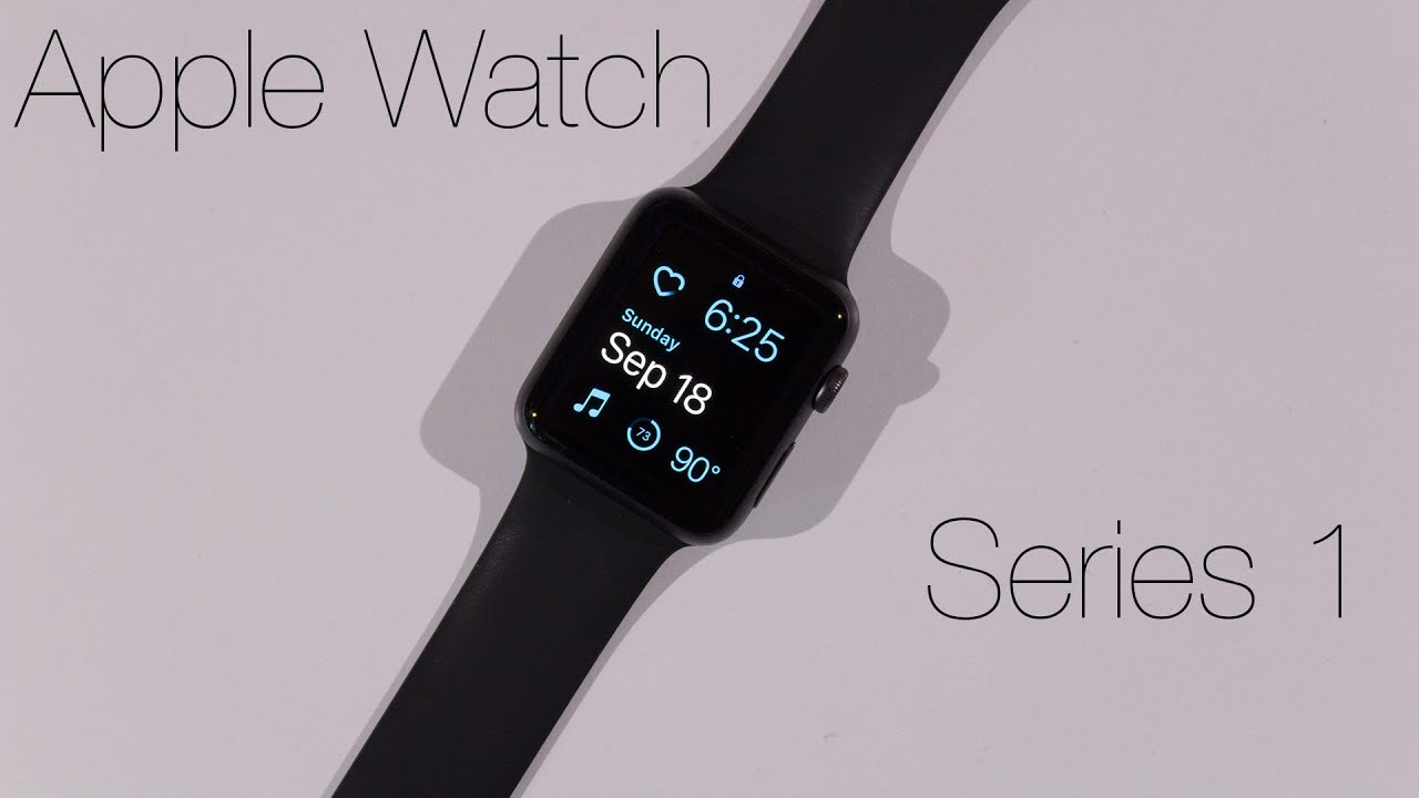 unboxing apple watch series 1 42mm space gray youtube. Black Bedroom Furniture Sets. Home Design Ideas