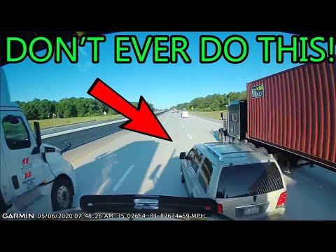 crazy-road-rage-usa-&-canada- -bad-drivers,-car-crashes,-semi-brake-check,-insurance-scam- -new-2020