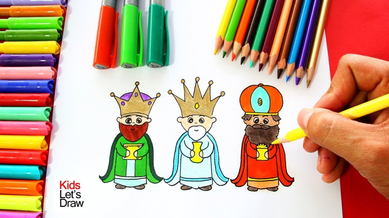 Cmo Dibujar A Los Reyes Magos 2 C 243 Mo Dibujar A Los