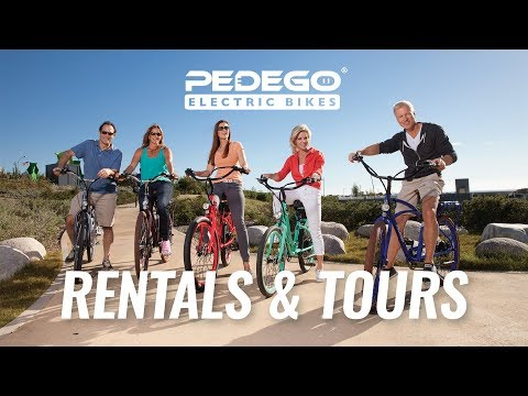 Electric Bike Rentals & Tours | Pedego Electric Bikes