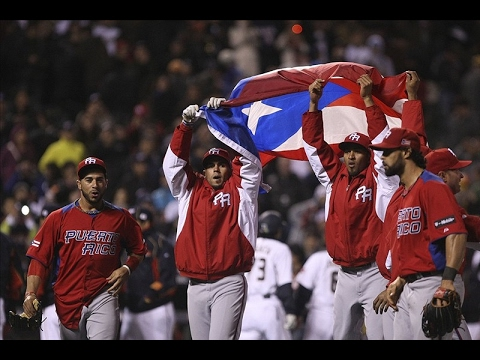 2017 World Baseball Classic Team Puerto Rico Hype Video