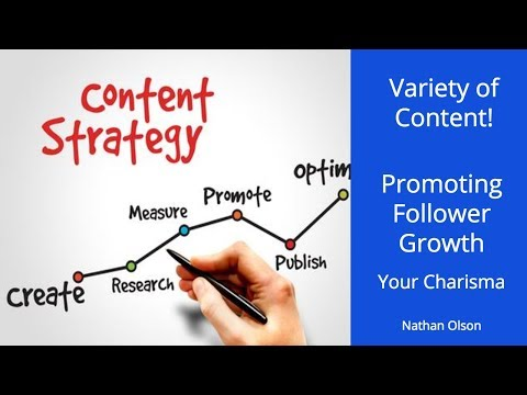 Promoting Growth with Content Variety | Your Charisma