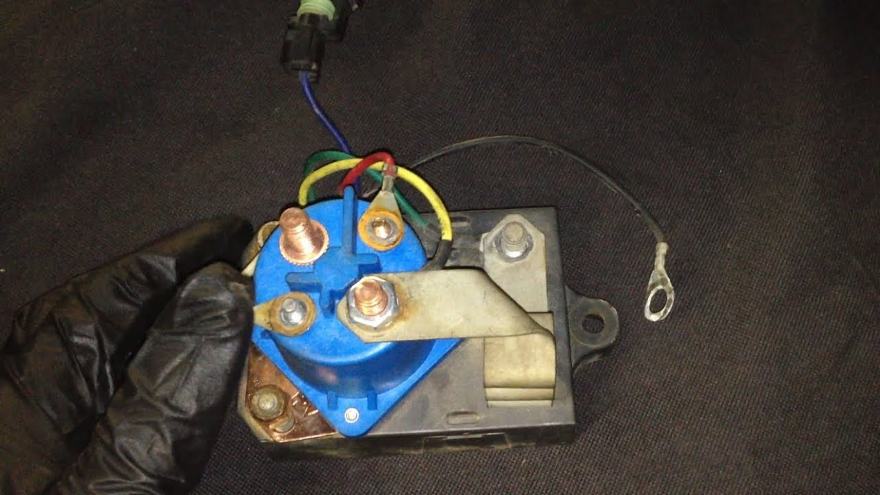 Ford 7.3L IDI Glow Plug Relay Testing Procedure  Glow Plug Relay Wiring on