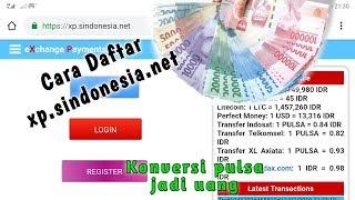 Download Cara Daftar xp.sindonesia.net   konversi pulsa jadi uang Mp3 and Videos
