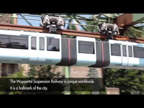 Wuppertal Suspension Railway with nora rubber flooring