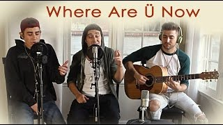 """Jack Ü feat. Justin Bieber - """"Where Are Ü Now"""" (Acoustic Cover by The Pilot Kids & Greg Gorenc)"""
