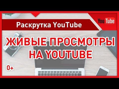 Как набрать живые просмотры на Ютубе. Раскрутка видео через официальную рекламу (Не накрутка)