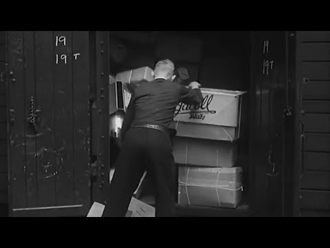 Parcels Service (1959) British Transport Films