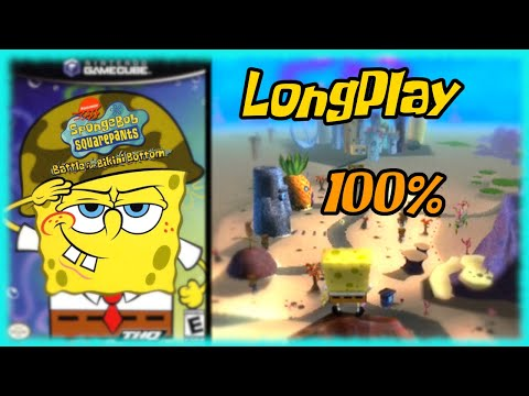 SpongeBob SquarePants: Battle for Bikini Bottom - Longplay 100% Full Game Walkthrough No Commentary