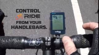 Get Ride With GPS Data on the Wahoo RFLKT Bike Computer