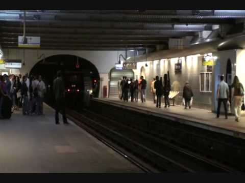Metro Champs Elysees Clemenceau Station and the Train to CDG - Paris - France