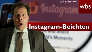 Hat dein Instagram-Beichtstuhl bald ausgedient? | Darf ich das - Rechtsanwalt Christian Solmecke