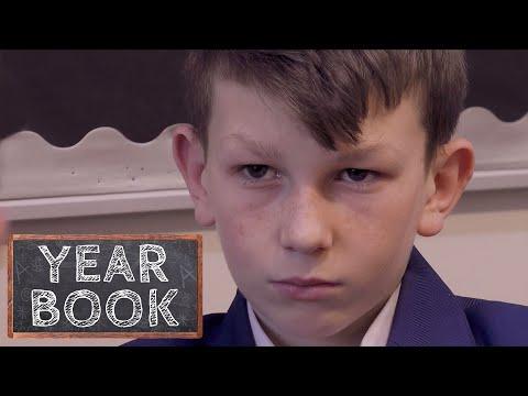 Brothers Fight in School Corridor | Yearbook