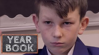 Brothers Fight in School Corridor | Yearbook