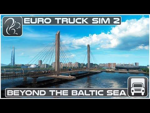 Beyond the Baltic Sea DLC Review (Euro Truck Simulator 2)