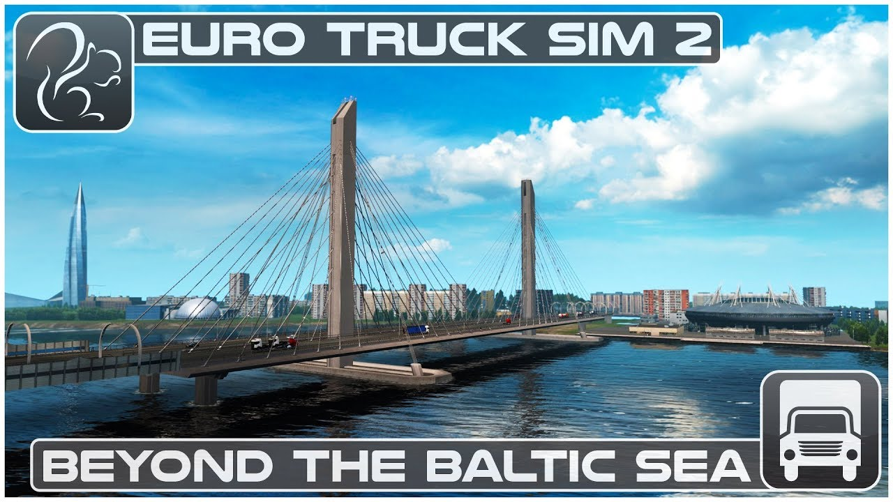 beyond the baltic sea dlc review euro truck simulator 2. Black Bedroom Furniture Sets. Home Design Ideas