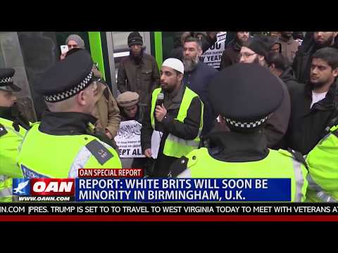 Report: White Brits Will Soon Be Minority in Birmingham, U.K.