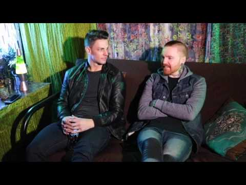 Memphis May Fire Interview at The Rave on March 9, 2017 in Milwaukee, Wisconsin