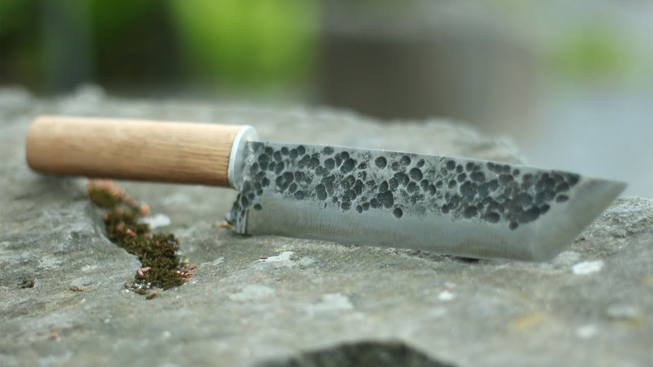 Knife making - Japanese style kitchen knife