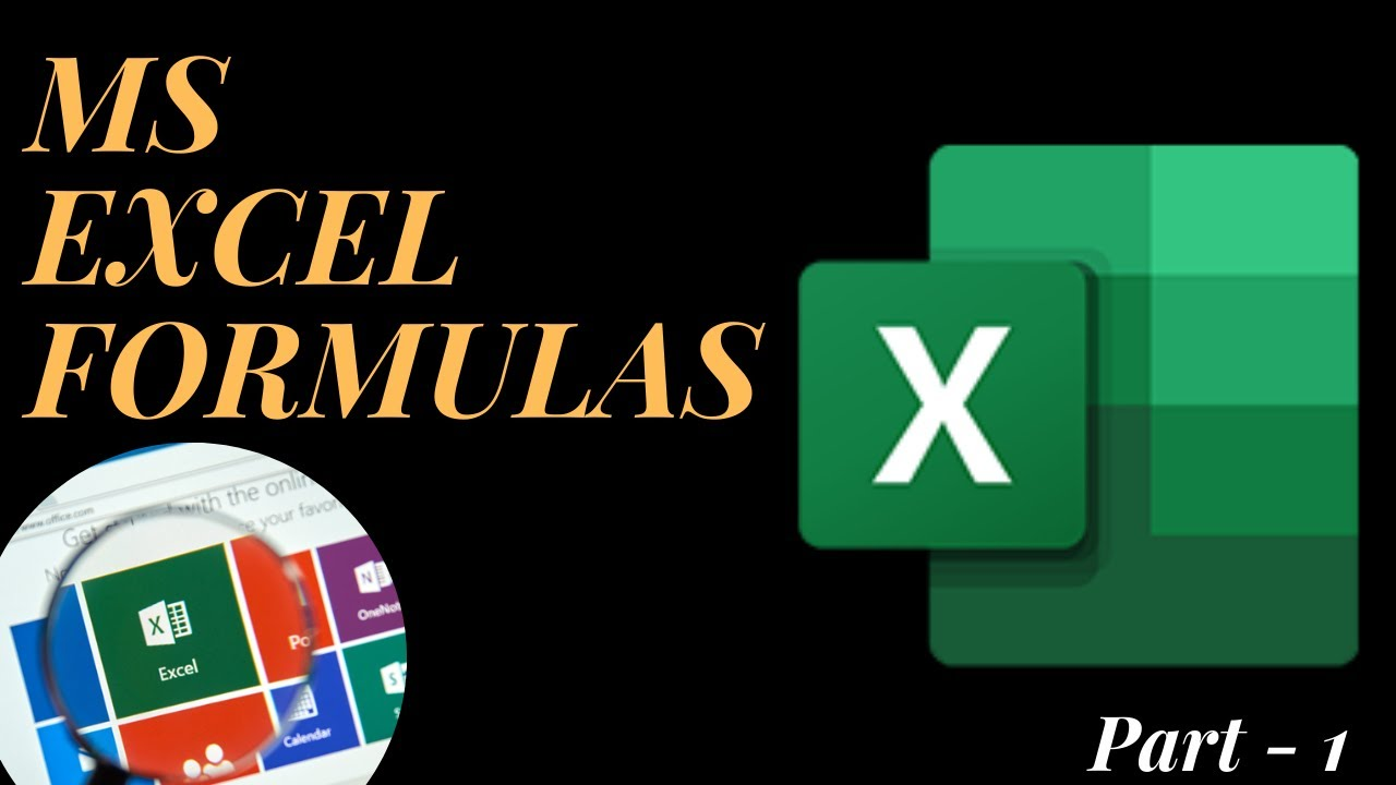 MS EXCEL FUNCTIONS   Best and powerful Formulas used in MS EXCEL ...